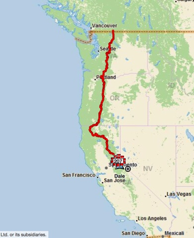 Planning my 2018 PCT Section – Dale\'s Pacific Crest Trail hike — 2019